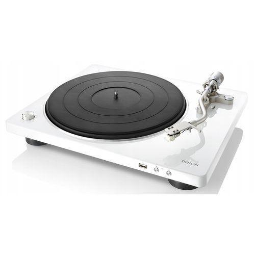 Denon dp-450usb biały - automatyczny gramofon analogowy   usb   raty 0%   gwarancja 3-lata