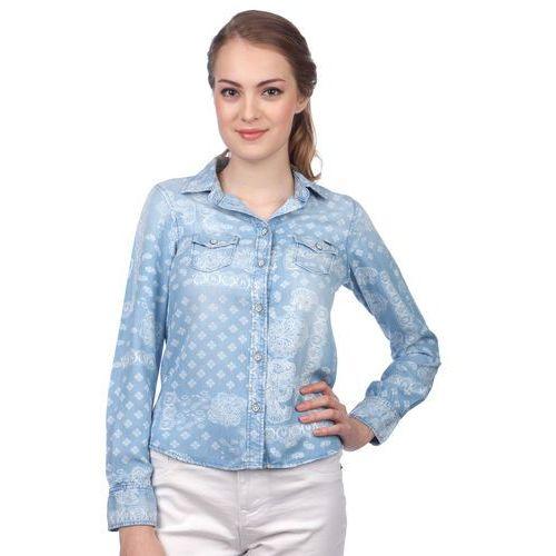 koszula damska freedom s niebieski, Pepe jeans