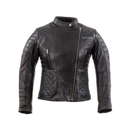Damska skórzana kurtka motocyklowa corallia, czarny, s marki W-tec