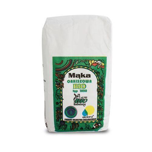Mąka orkiszowa razowa typ 1850 bio 1kg marki Babalscy