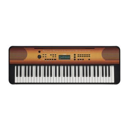 psr e 360 m keyboard instrument klawiszowy, kolor maple-klonowy marki Yamaha