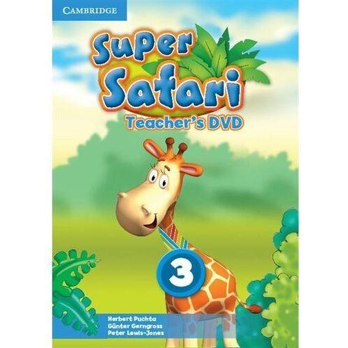 Super Safari 3 Teacher's DVD (Płyta DVD) (9781107477285)