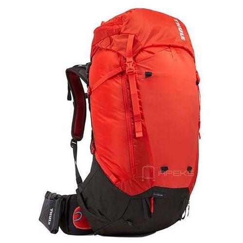 versant 50l men's plecak turystyczny / czerwono - pomarańczowy - roarange marki Thule