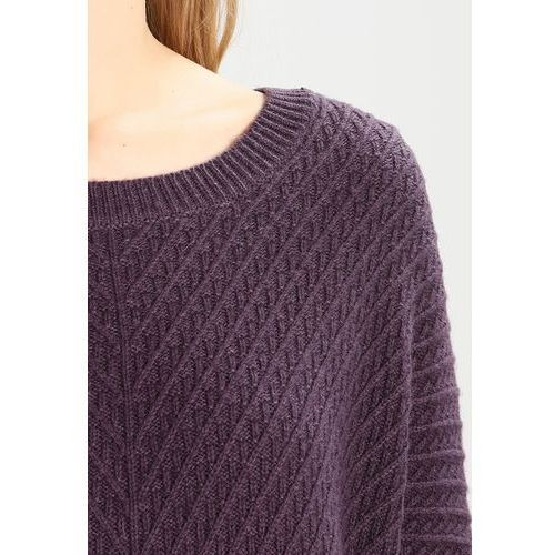 Selected Femme SFRILLE WIDE ONECK Sweter plum perfect, 16058196