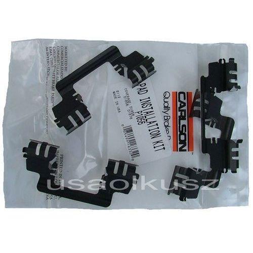 Zestaw naprawczy montażowy klocków hamulcowych przednich dodge caliber srt-4 2008 marki Carlson