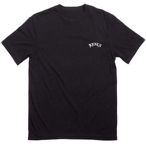 koszulka BRIXTON - Calles S/S Prem Tee Black (BLACK) rozmiar: L