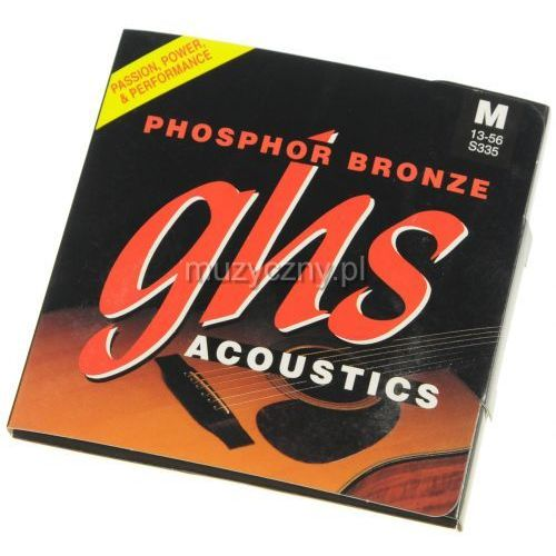 GHS S335 Phosphor Bronze struny do gitary akustycznej 13-56
