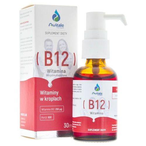 Krople Avitale Witamina B12 200 µg w kroplach - 30 ml