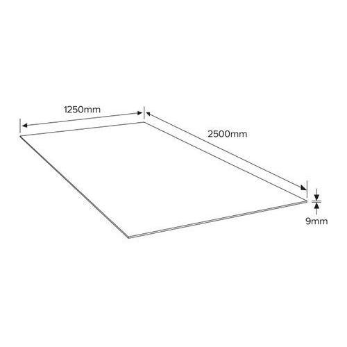 Płyta OSB 3 Kronobuild 2500 x 1250 x 9 mm (3663602840121)