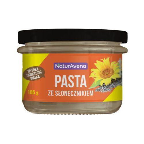 185g pasta ze słonecznika z ciecierzycy i dyni marki Naturavena