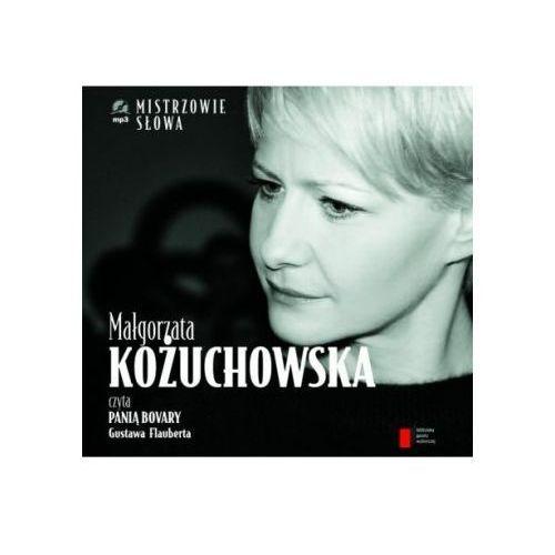 Małgorzata Kożuchowska czyta 'Panią Bovary. Audiobook + książka (32 str.)