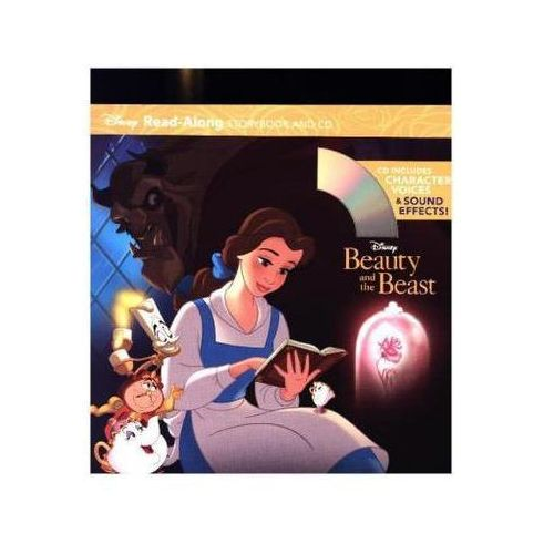 Beauty and the Beast Read-Along Storybook, w. Audio-CD Disney Book Group
