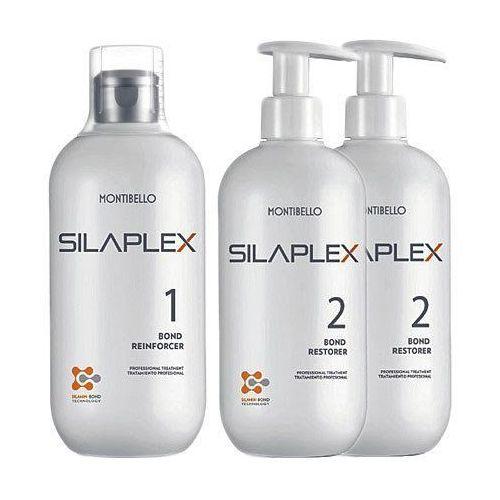 silaplex kit kompletny zestaw do wzmacniania włosów no1+2xno2 3x500ml marki Montibello