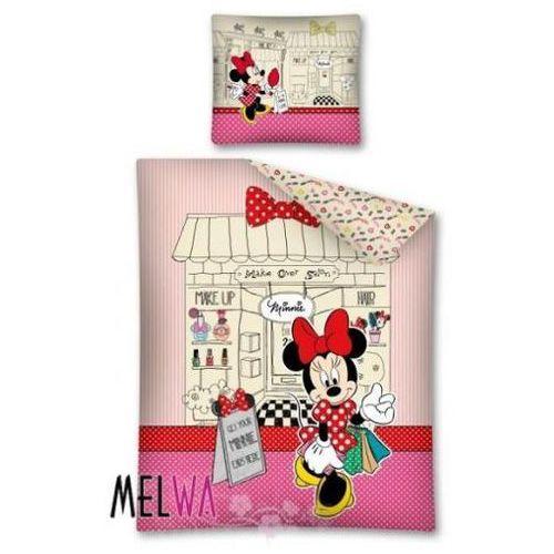 Komplet pościeli licencyjnej dla dzieci 160/200 Minnie Mouse, Detexpol