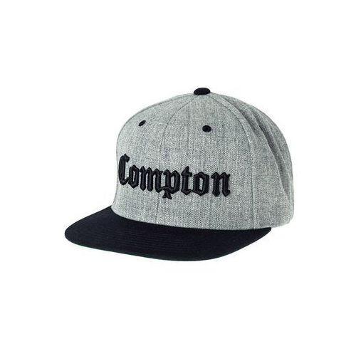 Flexfit COMPTON Czapka z daszkiem heather grey/black - produkt dostępny w Zalando.pl