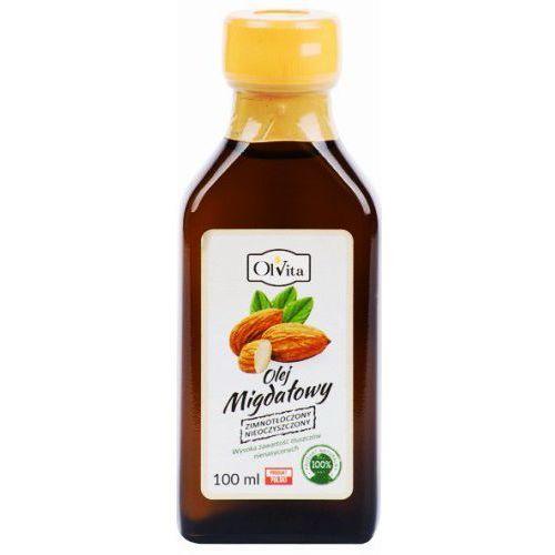 Olej migdałowy tłoczony na zimno 100ml marki Olvita