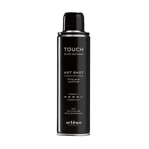 Artego touch hot shot, lakier mocno utrwalający bez obciążania włosów 500ml (8032605277336)