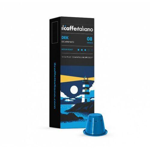 Nespresso kapsułki Caffe italiano dek kapsułki do nespresso (kawa bezkofeinowa) – 10 kapsułek
