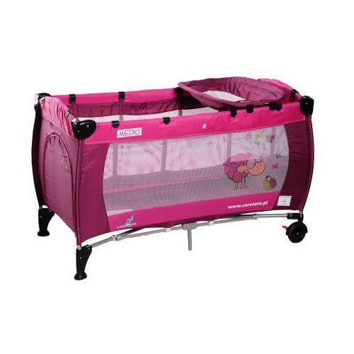 Caretero Medio Classic łóżeczko turystyczne rose - oferta [058b497e67d5f548]