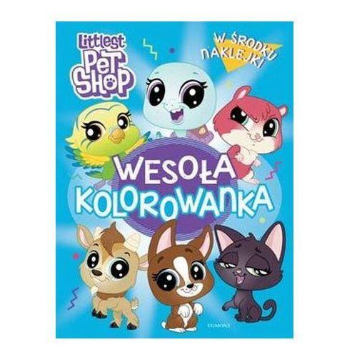Littlest Pet Shop. Wesoła kolorowanka z naklejkami Praca zbiorowa