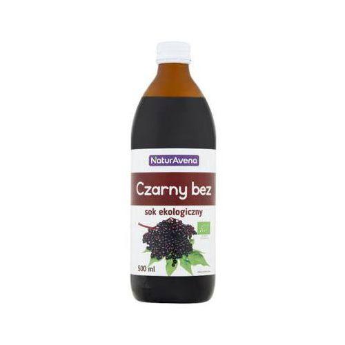 500ml sok z czarnego bzu bez dodatku cukru bio marki Naturavena