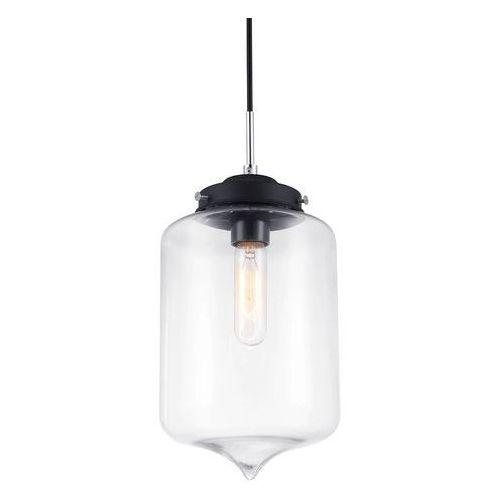 Skandynawska LAMPA wisząca TUBE MDM2095/1 B Italux szklana OPRAWA zwis szkło przezroczyste (5900644405276)