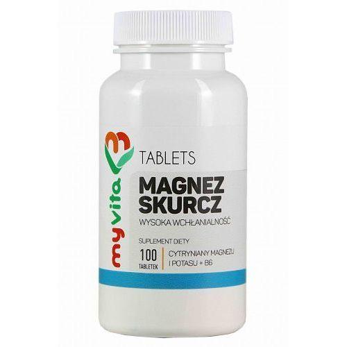 Myvita Magnez skurcz (magnez+potas+b6) 100 tabletek -