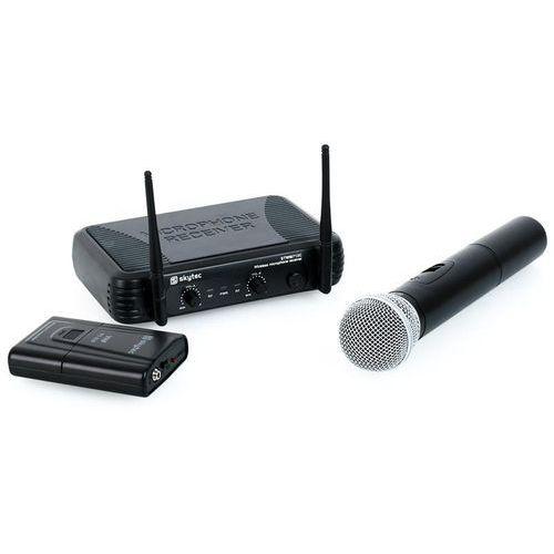 Skytec stwm712c vhf bezprzewodowy zestaw mikrofonowy (8715693255416)