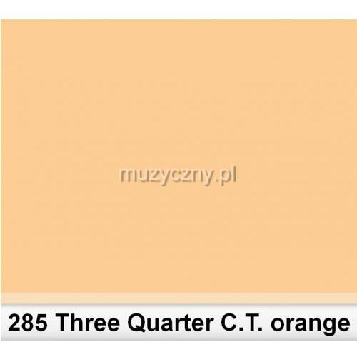285 tree quarter c.t.orange 3/4 filtr barwny folia - arkusz 50 x 60 cm marki Lee