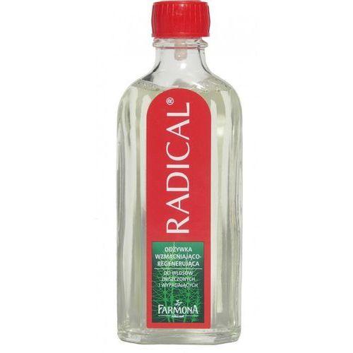 RADICAL Odżywka wzmacniająco-regenerująca / butelka szklana 100ml ze sklepu Farmona Laboratorium Kosmetyków Naturalnych
