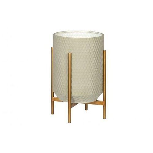 Woood metalowa doniczka dla roślin juul betonowy szary 373300-b
