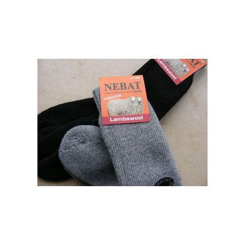 Skarpety rozgrzewające wełniane - rozm. 41-45 marki Nebat (turcja)