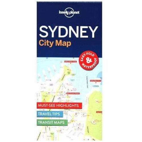 Lonely Planet Sydney City Map (2 str.)