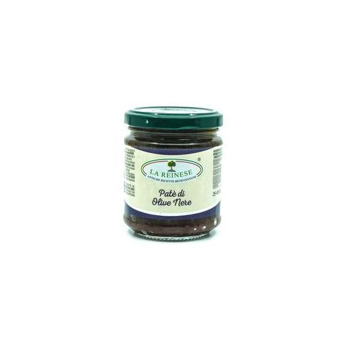 Pasta z czarnych oliwek marki Fattorie del duca włoskie delikatesy