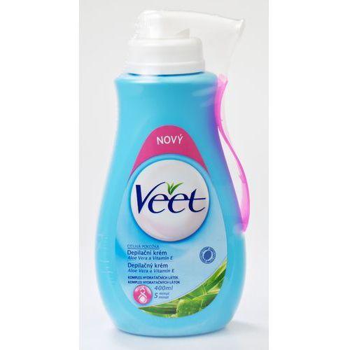 Veet Krem do depilacji do skóry wrażliwej 400 ml - produkt dostępny w Mall.pl