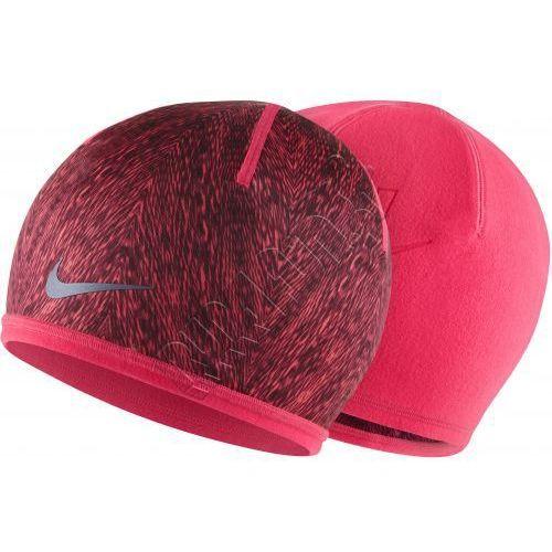 Czapka na zimę dla biegaczy - Nike Run Cold-Weather Beanie, kolor: różowy/czarny - produkt dostępny w Run4Fun.pl - Dystrybutor Nike