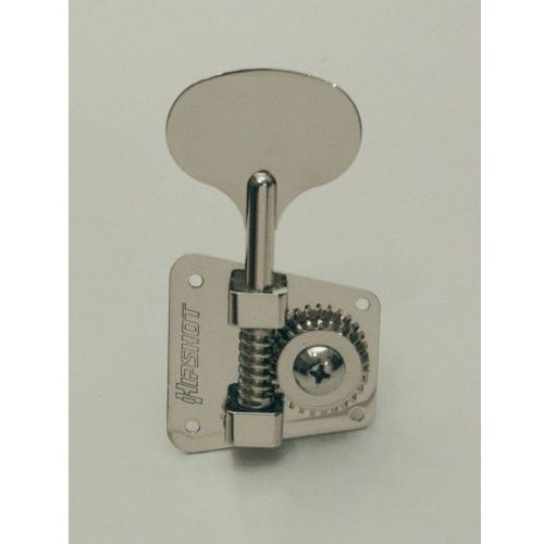 hb2 - bass tuning machine, ′67-′82 usa fender, treble side? niklowany klucz gitarowy marki Hipshot