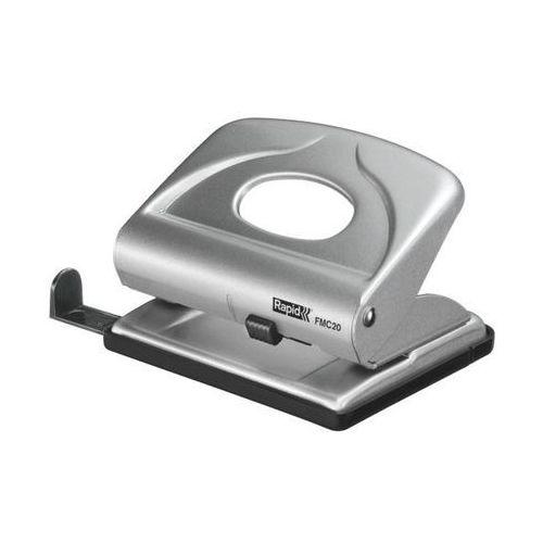 Dziurkacz mini Rapid Fashion FMC20 21835402 - srebrny