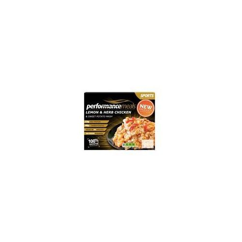 Performance Meals Lemon & Herb Chicken With Sweet Potato Mash 430g
