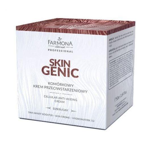skin genic komórkowy krem przeciwstarzeniowy na dzień marki Farmona