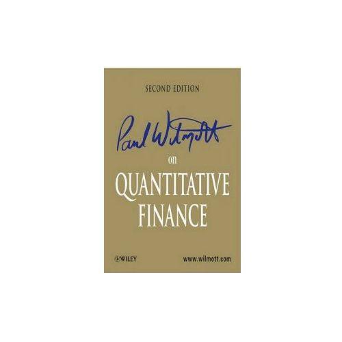 Paul Wilmott on Quantitative Finance (9780470018705)
