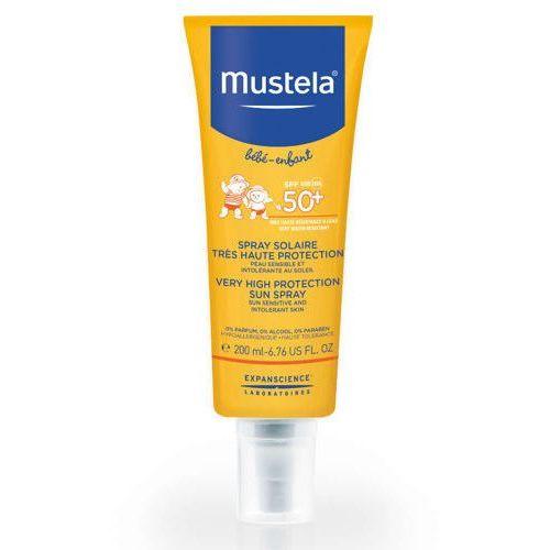Mustela sun spray przeciwsłoneczny bardzo wysoka ochrona spf50+ 200ml marki Laboratoires expanscience