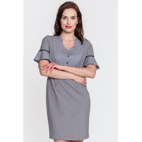 172d145716 Margo collection Sukienka w kratkę - 295