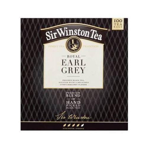 TEEKANNE 100x1,75g Sir Winston Tea Royal Earl Grey Aromatyzowana herbata czarna
