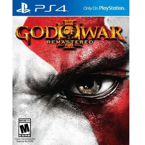 God of war iii remastered pl ps4 marki Sony