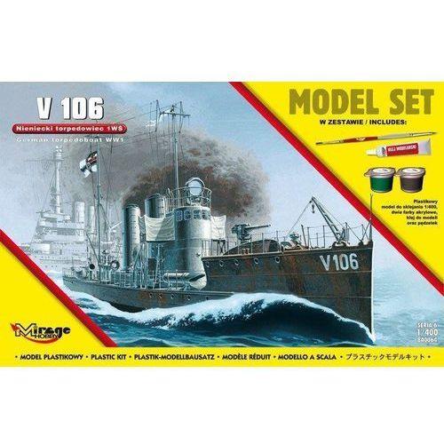 Okręt torpedowy v106 marki Mirage hobby