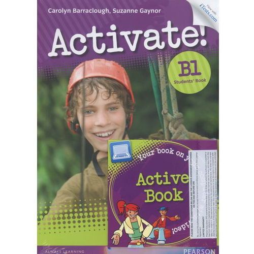 Activate B1 New Students Book. Active Book and iTest PET, oprawa broszurowa
