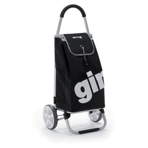 Torba na zakupy na kółkach galaxy czarny marki Gimi