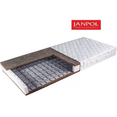 JANPOL KRONOS - materac bonellowy, sprężynowy, Rozmiar - 160x200, Pokrowiec - Jersey Standard WYPRZEDAŻ, WYSYŁKA GRATIS (5906267009044)