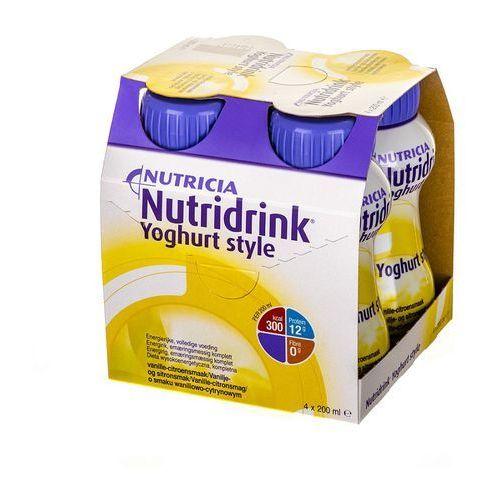 Nutridrink Yoghurt Style Waniliowo-cytrynowy 4*200ml (artykuł z kategorii Witaminy i minerały)